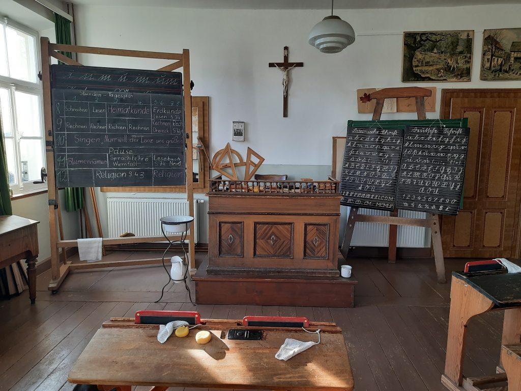 Bild vom Klassenzimmer