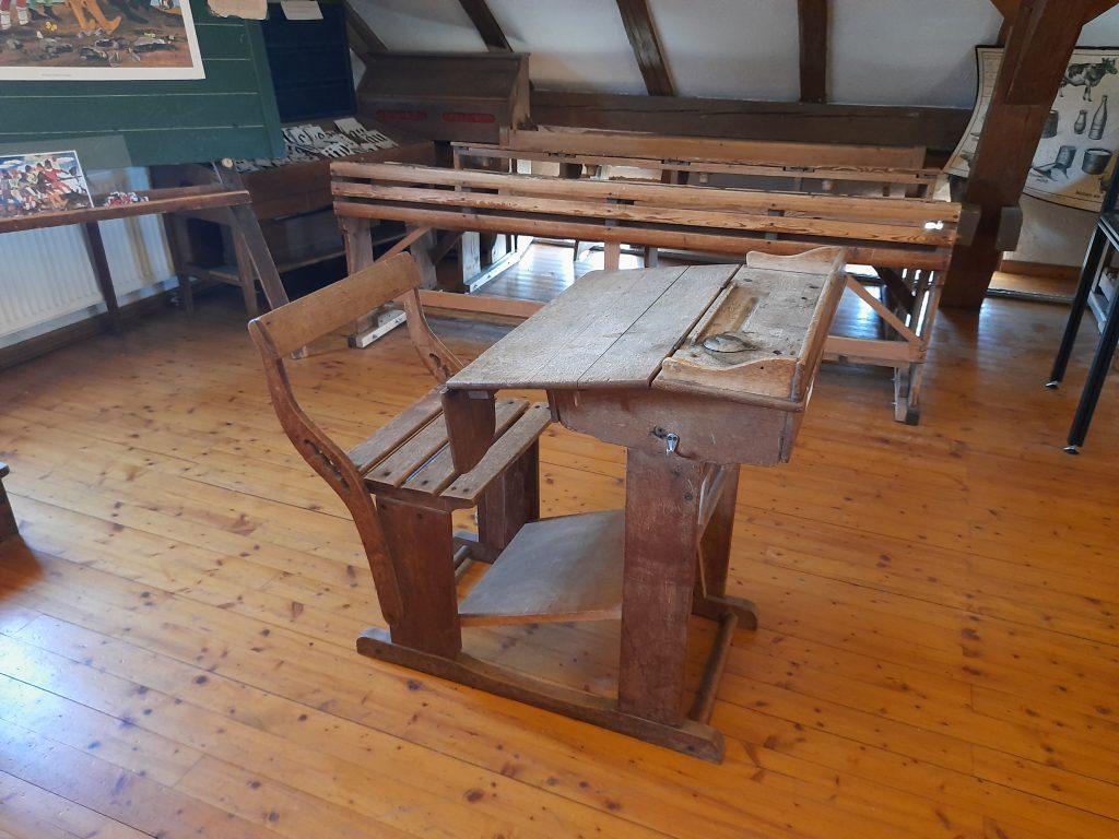 Bild von einem Einzeltisch