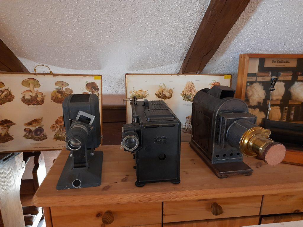 Bild von alten Projektoren