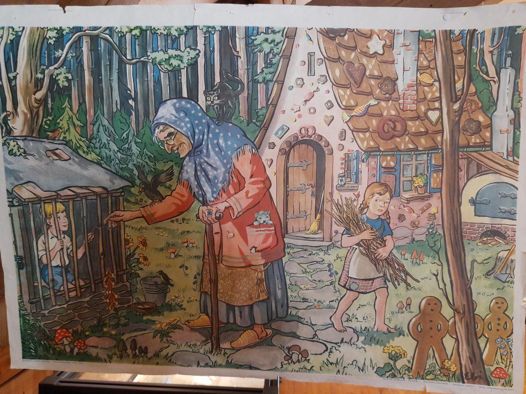 Bild von dem Maerchen Haensel und Gretel