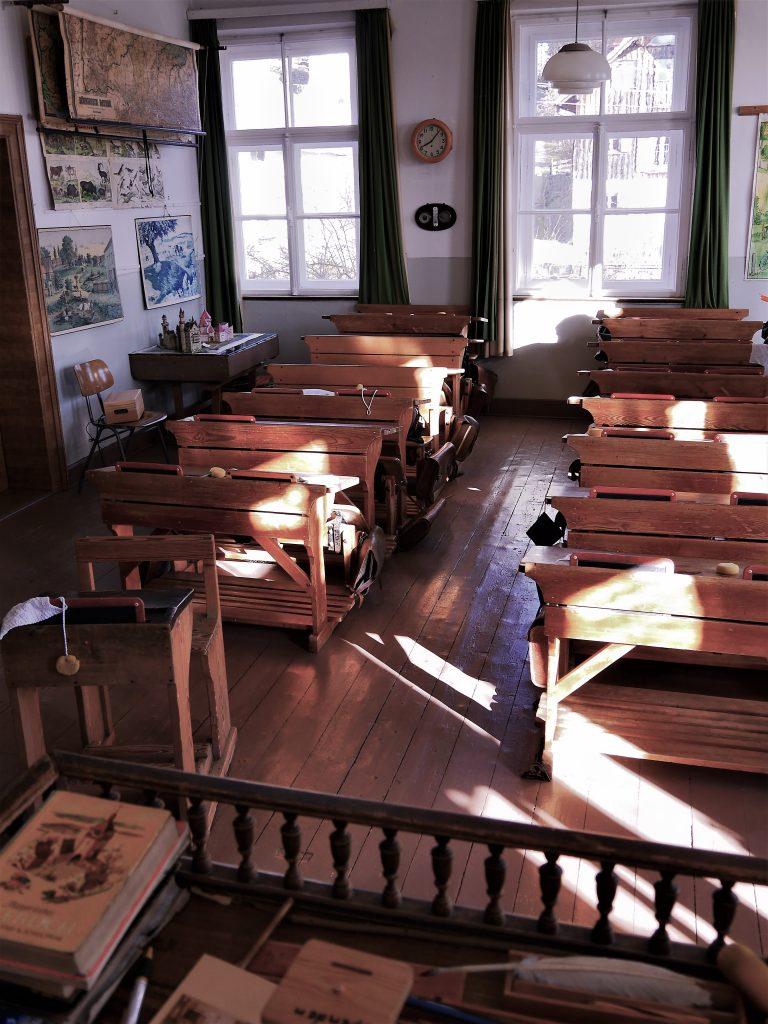Klassenzimmer aus Lehrersicht