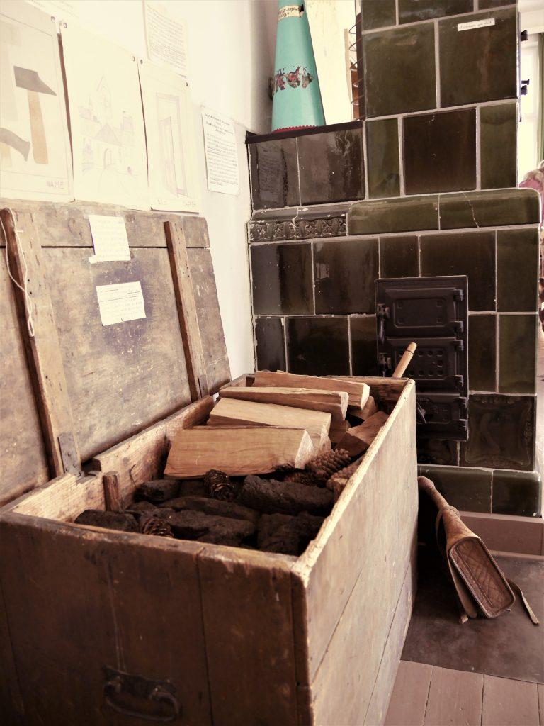 Bild von der Feuerholz Kiste